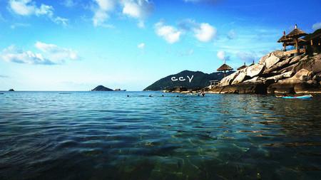 蓝回归线海南三亚:蜈支洲岛 分界洲岛 顶级双岛/船游三亚湾/梦幻水
